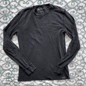 Calvin Klein long sleeve shirt with elbow patches